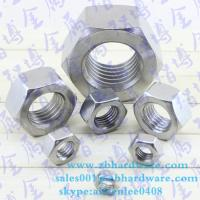 Best High quality lowest price  hex nut  m3 to m64 din934 wholesale