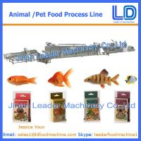 Best 100kg/hr Cat,dog ,fish treats /pet food Processing Equipment wholesale