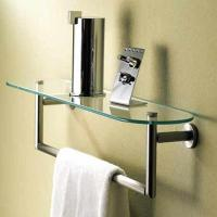 Best decorative bathroom accessories double towel bar wholesale