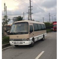 Best Toyota Coaster Used passenger bus with 30 seats, used cars with diesel engine for sale wholesale