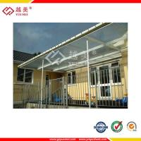China lexan 8mm clear polycarbonate sheet awnings on sale