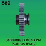 Best 348003349B 3480 03349B GEAR TEETH-25 FOR KONICA R1,R2 minilab wholesale