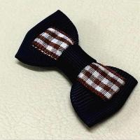 Best Tuxedo Solid Grosgrain Ribbon Bow Crafts Formal Occasion Use For Men wholesale