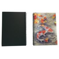 Best Wires Colored 80 Pages A5 3D Plastic Cover Notebooks For School Use wholesale
