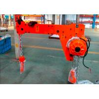 Best 1 Ton 1000 KG High Efficiency Compact Low Headroom Electric Double Hook Chain Hoist wholesale