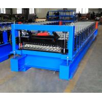 Best Corrugated Steel Panel Roll Forming Machine , Steel Frame Roll Former 12-18m/Min wholesale