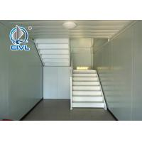 China Contemporary Prefab Hospital Building , Prefab Modern Modular Container Hotels on sale