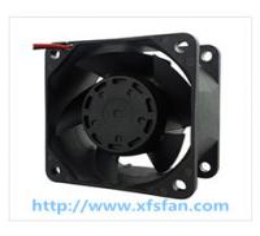 60*60*38mm 12V/24V DC Black Plastic Brushless Cooling Fan DC6038