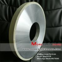 China 1A1  350*30*10mm Vitrified bond diamond wheel for processing PDC compact on sale