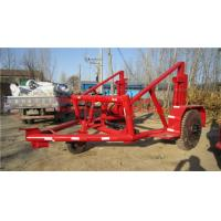 Cheap reel trailers cable-drum trailers CABLE DRUM TRAILER for sale