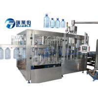 Best 5 L - 10 L Rotary Type Water Bottle Filling Machine For Plastic Bottle wholesale