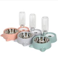Best Safefy Pet Food Feeder Automatic High Strength PP Material With Non - Slip Mat wholesale