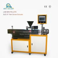 Best Lab Mini SHJ-21 Pellets Twin Screw Extruder| Lab Mini Pellets Extrusion Machine wholesale
