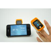Best OLED Screen Handheld Finger Portable Pulse Oximeter With Bluetooth wholesale