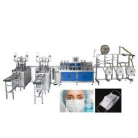 Best Fully Automatic 2 Lines Medical Mask Disposable Face Mask Making Machine wholesale