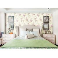 Soundproof American Style Wallpaper For Home / Hotel Decoration , Eco Friendly