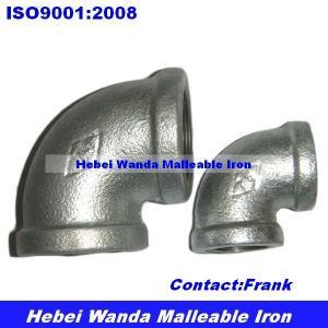 Best galvanized malleable iron elbow BS thread wholesale