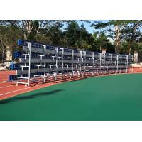 Best Retractable Temporary Spectator Seating Stands With Aluminum Single Foot Plank wholesale