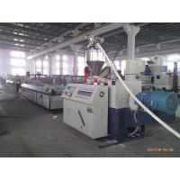 Best High Output Twin Screw Extruders For Plastic Pipe Profile Sheet wholesale