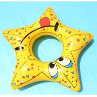"""Best Inflatable 32"""" five angle star kids swim ring,vivid cartoon pattern for kids love wholesale"""