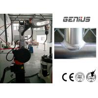 Best MIG TIG Robotic Welding Systems Servo Motor 10kg Max Payload Vertical Mounting wholesale