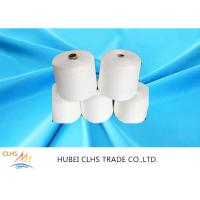 Best Raw White / Dyed Poly Spun Yarn , 100 Spun Polyester Yarn For Sewing Thread wholesale