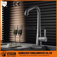 New brass desk mounted wash basin faucet for kitchen