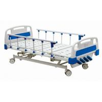 Best Temporary Manual Hospital Bed Equipment With Four Revolving Crank 700 mm Height wholesale