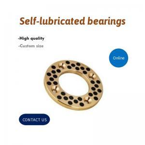 Best Gasket Cast Bronze Graphite Plugged Bronze Bushings | Oilless Bearings wholesale