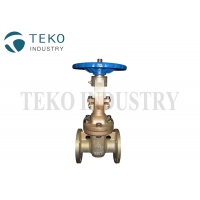 Best B62 C95800 Bronze Flanged End Wedge Gate Valve For Seawater wholesale
