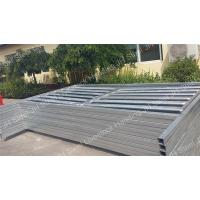 China Heavy Duty Galvanized Cattle Yard Panels Horse Fence For Farm Livestock JH on sale
