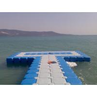 Best High Safety Plastic Floating Dock Cubes , Jet Dock Cubes Corrosion Preventive wholesale