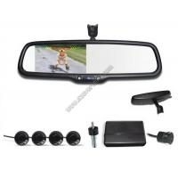 Best 4.3 inch Rear view mirror Visual parking sensor CRS9437 with Reversing Camera and Sensors wholesale