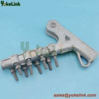 Best High quality Double bolted Aluminum Straight line strain clamp with good price wholesale