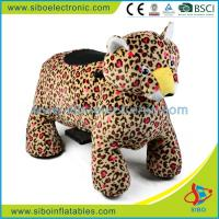 Best Riding Horse Toy , Plush Animal Rides , Stuffed Animal , Coin Operated Kiddie Rides wholesale