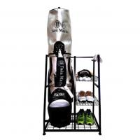 Best Functional Storage Single Golf Bag Organizer Rack Indoor Use Non Folding Stand Type wholesale