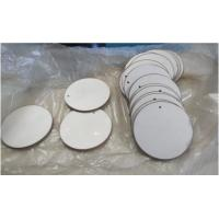 Buy cheap High Efficiency Piezo Ceramic Disc Round Shape 43 X 2mm With P8 P4 Material from wholesalers