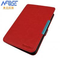 Best Slim Red Pocketbook 622 Touch Case MAGNETIC , Protective Lightweight wholesale