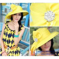 China 2015 Spring New Wholesale Women Church Hats/ Party hats on sale