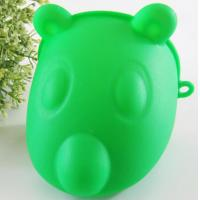 Best Finger Oven Mitts Hot Hands Gloves , Silicone Hot Gloves Green Color wholesale