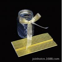 Cheap Food Grade Gold Blocking Coloured Paper Straws , Decorative Drinking Straws Pass for sale