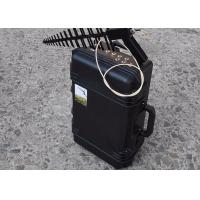 Best 150w RF Low Power Hand Held Anti Drone Jammer 0.3g To 5.8g Jamming Frequency wholesale
