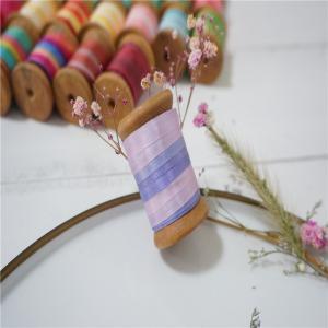 Best 7mm 002-004-005#  variegated silk ribbon,multicolor ribbon,rainbow 100% silk ribbon,ribbon,embroidery ribbon wholesale