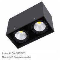 Best Interior IP40 surface mounted 14W COB LED downlight for shopping mall wholesale