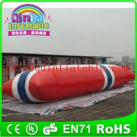 Best Inflatable Aqua launch PVC inflatable water games inflatable water tower wholesale