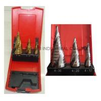 Best 3PC Spiral Flute Step Drill Set wholesale