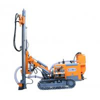 Buy cheap High Performance Dth Rig Machine Without Cab , 90mm - 115mm Blasing Hole Air from wholesalers