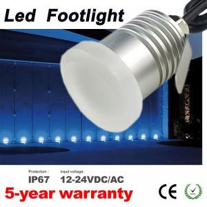 Best Mini Led Moonlight Footlights Dimmable IP67 12V 24V Wall Floor Deck Corner Light Recessed Spotlight for garden landsc wholesale