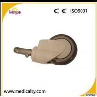 Best Industrial Hospital Bed Casters , TPR PP Core 5 Inch Caster Wheels For Hospital Beds wholesale
