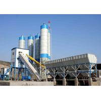 China Ready Mix Belt Type Cement Concrete Plant HZS90 90m3/H Stationary For Construction on sale